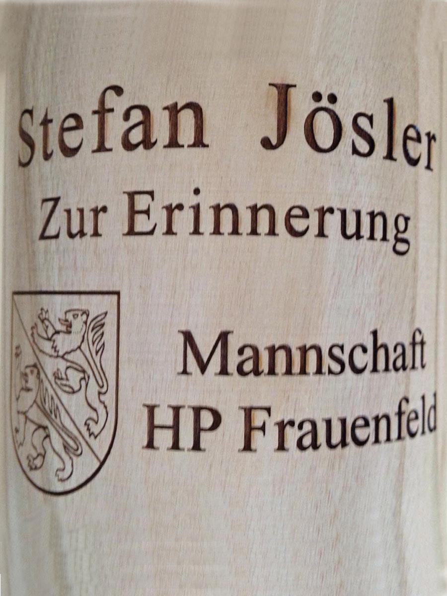 PGB Peter Bamert Holzgravur